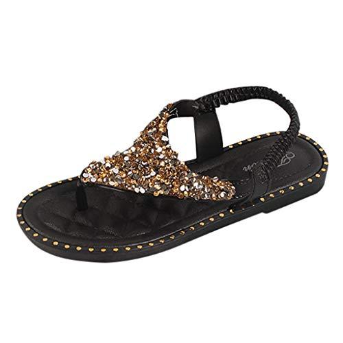 Epigeon Strand Sommer Frauen Clip Toe Flip Flops Retro Flache Absätze Sandalen Weiche Schuhe