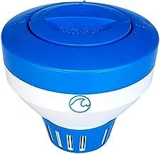 Cclear Pool Chlorine Floater for Chlorine Tablets 3 inch, Durable Pool Chlorine Tablet Floater, Chlorine Dispenser, Floating Chlorinator, Chlorine Float, Chemical Holder