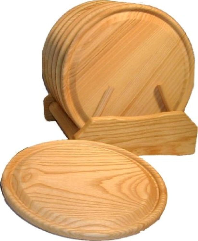 Tellergarnitur mK 24 en bois de hêtre