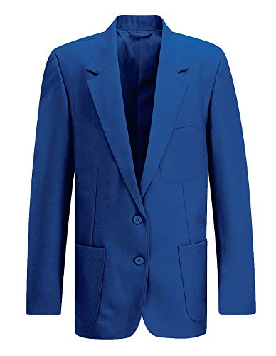 School Uniform 365 School Uniform 365 Mädchen Blazer Gr. 122 cm Brust, königsblau