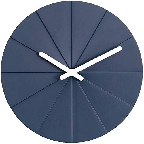 HCYY Reloj de Pared 11 Pulgadas Cement Nord Reloj de Pared Plegable,...