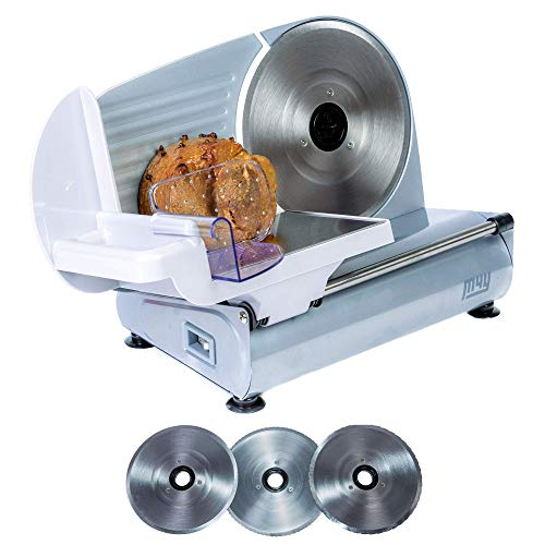 M4Y Meat Slicer   Large 22cm Diameter Electric Food Deli Cheese Bread Specialist...
