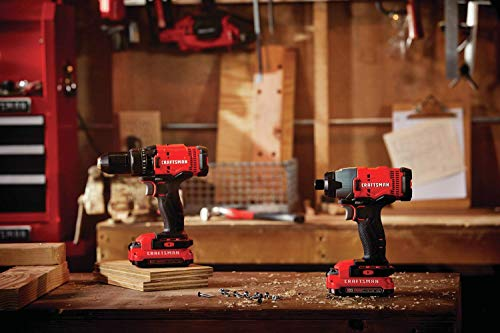 Craftmsna Drill and Impact Driver