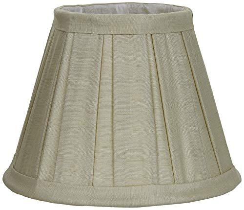 Better & Best 0211160–Lampenschirm aus Seide, Tabelle breit, 16cm, hellgrün