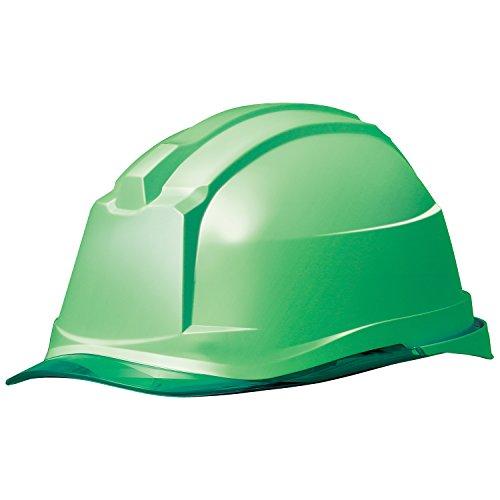 ミドリ安全 ヘルメット クリアバイザー SC-19PCL RA3 α グリーン グリーン