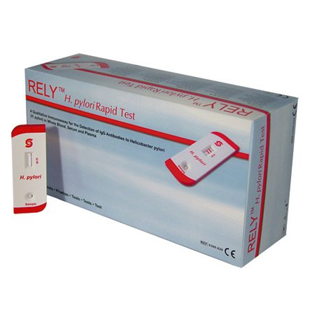 Stanbio Rely H. pylori Rapid Test, 20/bx