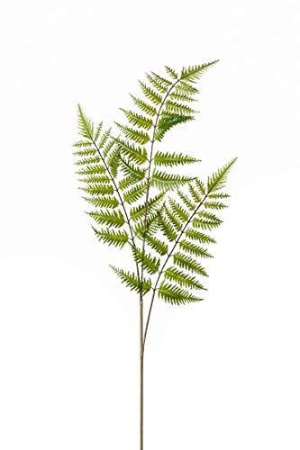 artplants.de Künstlicher Zweig Boston Farn Matisse, grün, 85cm - Kunst Schwertfarn