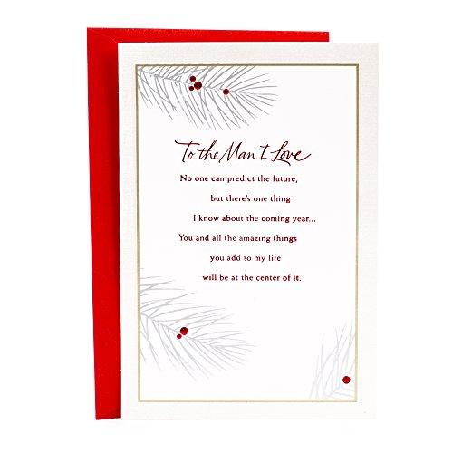 Hallmark Christmas Romantic Greeting Card for Husband or Boyfriend (Love of My Life Forever)