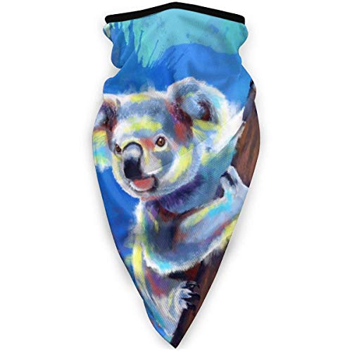 Not Applicable Head Scarf,Koala Bear Headwear Scarf Premium for Patry Half Face Scarf 24x52cm