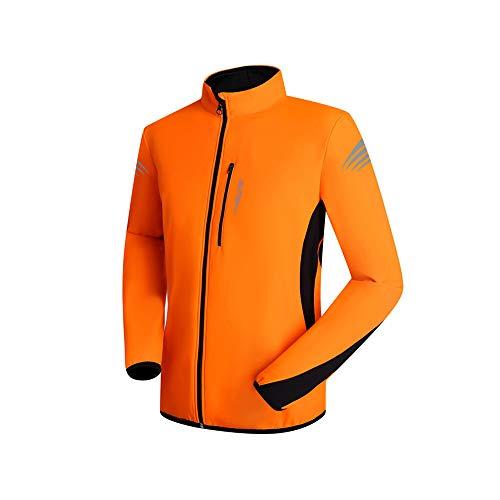 Hombres Ropa de Bicicleta Ciclismo chaqueta a prueba de viento ligero y transpirable de alta visibilidad chaqueta de bicicletas de montaña de los hombres Estiramiento alto Agradable para la piel