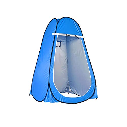 DRGRG Portable Privacy Tents Pop Up Privacy Shower Tent Portable Outdoor Sun Shelter Camp Toilet Changing Dressing Room Smallblue