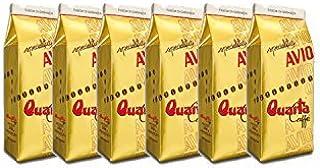 Caffè Quarta Avio Oro macinato. N. 6 confezioni da 250 g. Caffè italiano pugliese salentino prodotto e confezionato in Sal...