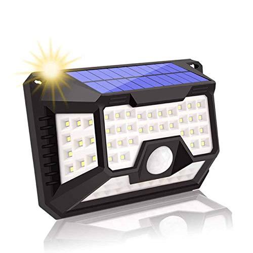 270 Groothoekverlichting Waterdichte Zonne-wandlamp, 66LED Bewegingssensor Buitenlicht, Geschikt Voor Tuin, Voordeur, Binnenplaats (155 * 160 * 115 Mm)