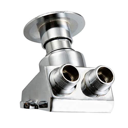 Válvula de interruptor de control de pedal de pie de un solo piso de cobre, válvula automática de pedal de agua fría para fábricas de hospitales