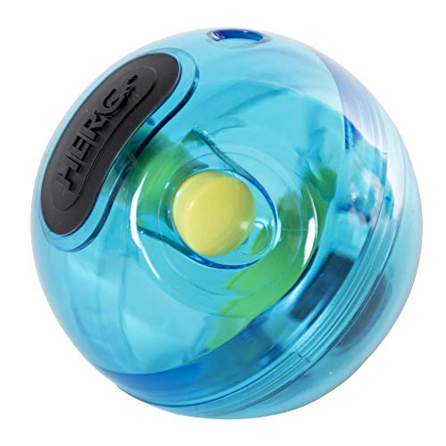 Hero Treat 'N Play, Treat Dispensing Polycarbonate Dog Toy, Giggle Ball