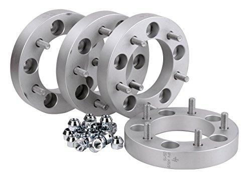 Hofmann Spurverbreiterung (4x) Aluminium 30mm pro Scheibe / 60mm pro Achse incl. Teilegutachten