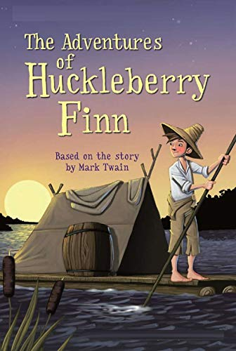 The Adventures of Huckleberry Finn Illustrated (English Edition)