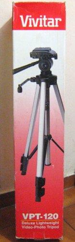Vivitar VPT-120 Deluxe Lightweight Video-Photo Tripod