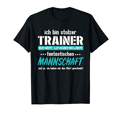 Trainer einer Mannschaft Fußballtrainer Geschenk