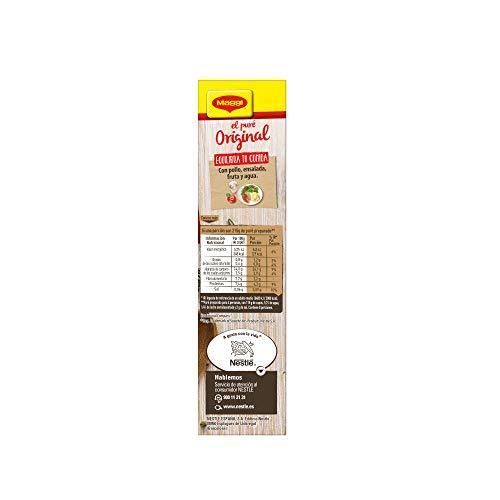 Maggi Puré de Patatas Natural - Puré Sin Gluten - 8 raciones de puré (2 Bolsas) - 230 g