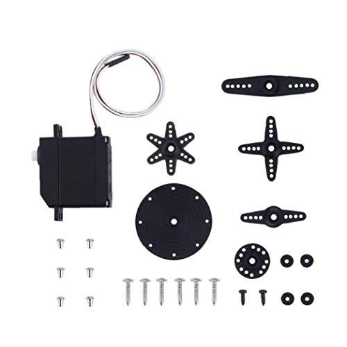 Micro Servo Motor Mini 9g Metallgetriebe High Torque Getriebe Für Rc Flugzeug Praktisches Werkzeug Dienstprogramme