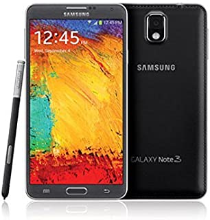 Samsung Galaxy Note 3 N900A 32GB Black (AT&T + GSM Unlocked) (Renewed)