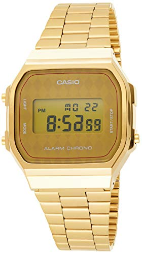 Casio Collection A168WG-9BWEF, Reloj Unisex, Amarillo