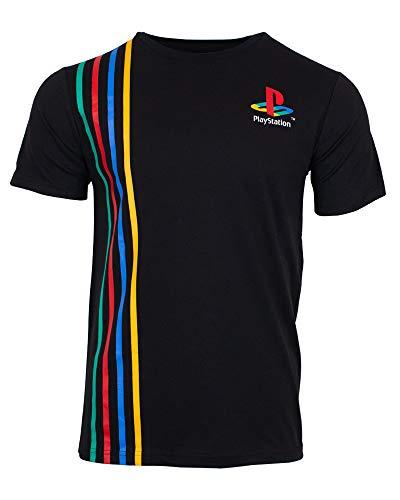 PlayStation Official Stripes T-Shirt UK L/US M