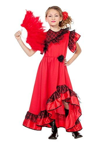 Wilbers 3632 Kostüm Spanierin Kinder-152