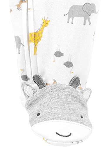 Simple Joys by Carter's Baby Lot de 2 jeux de pieds en coton pour dormir et jouer