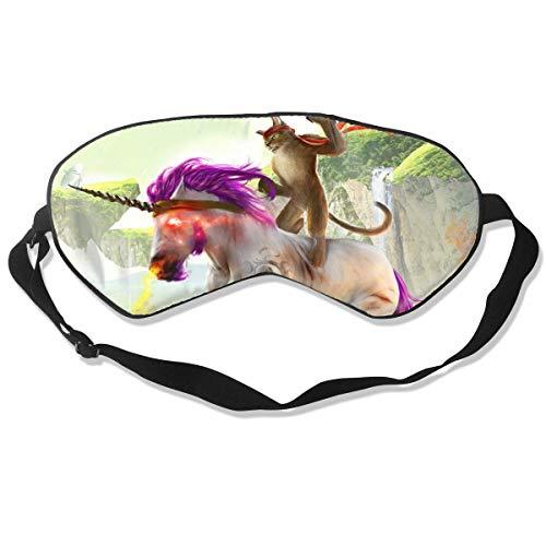 Augenmaske Cat Unicorn Schlafmaske verstellbar atmungsaktiv Schlafmaske Augenmaske