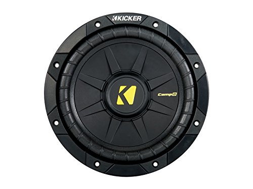 Kicker 40CWD82 CompD 8' Car Subwoofer - Each (Black)