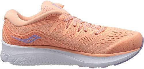 Saucony Ride ISO 2, Zapatillas de Correr para Mujer, Melocotón, 38 EU