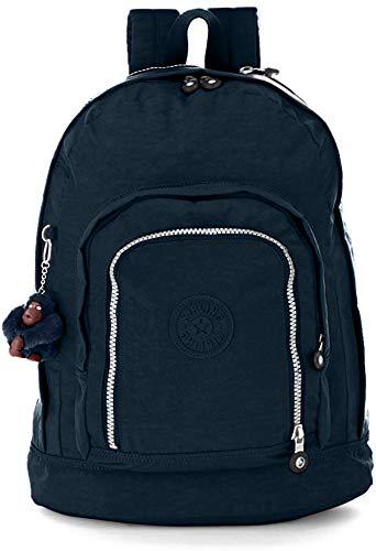 Kipling Hal Expandable Backpack, True Blue, One Size