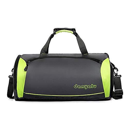 Liuxiaomiao - Bolsas de deporte para gimnasio, gimnasio, resistente al gimnasio, gimnasio, bolsa de viaje, bolsa de yoga, agua para ejercicio físico (color: verde, tamaño: S)