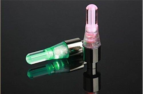 Zeagro - Juego de 2 Luces LED de Cambio automático para válvulas...