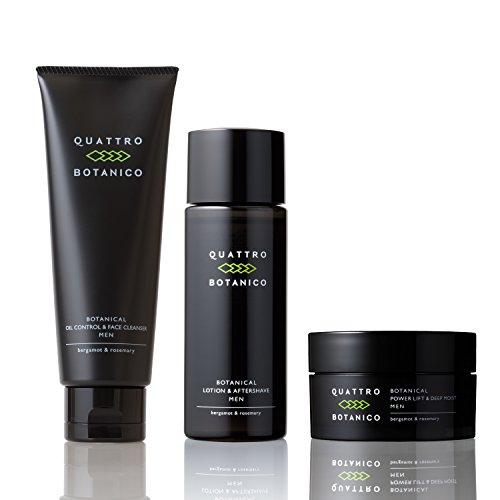 クワトロボタニコ ( メンズ オールインワン 化粧水 クリーム 洗顔 ) ボタニカル スキンケア セット ocCR 男性用 男性 化粧品 スキンケア