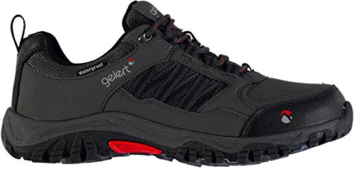 Gelert Horizon Herren Wasserdicht Wanderschuhe Outdoor Trekking Schuhe Charcoal 8 (42)