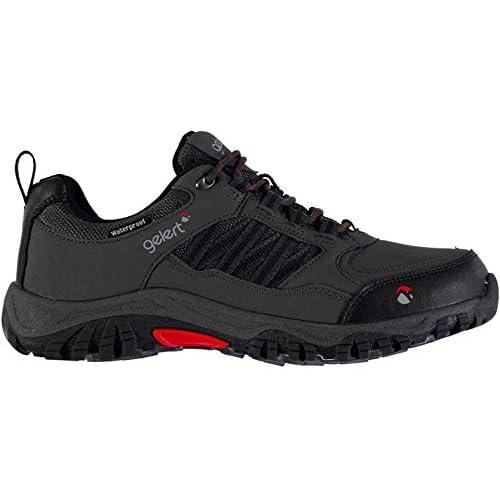 Gelert Mens Horizon Low Waterproof Walking Shoes Lace Up