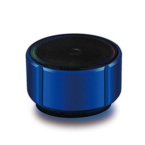 Tragbarer Mini-Lautsprecher, kabelloser, intelligenter Stereo-Sound-Lautsprecher, MP3-Player mit HD-Sound und integriertem Bassmikrofon Bluetooth 4.1 USB-Ladestation, 10 Meter kabellose Verbindung,B