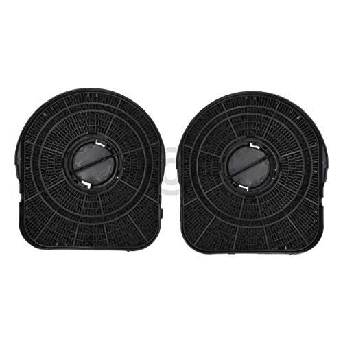 2 x DL-pro Kohlefilter für Whirlpool 484000008577 Wpro Type200 DKF42 CHF200/1 AEG Electrolux 9029793651 Dunstabzugshaube