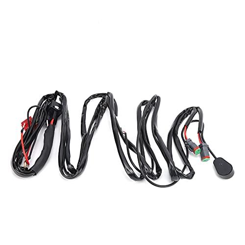 Interruptor de arnés de cables, barra de luz LED duradera para usar para yates para motocicletas para remolques para barcos