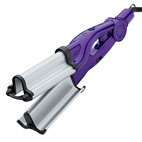 Bed Head Wave Artist Ceramic Deep Hair Waver for Beachy Waves, Purple