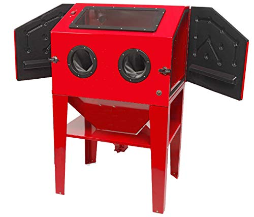 Cabina chorreadora de arena de 350 litros profesional Cabina arenadora