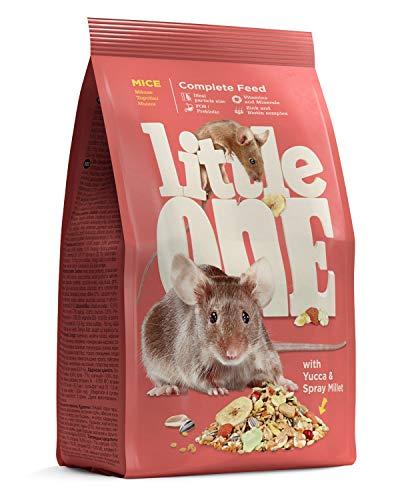 Little One Alleinfutter für Mäuse im Beutel, 5er Pack (5 x 400 g)