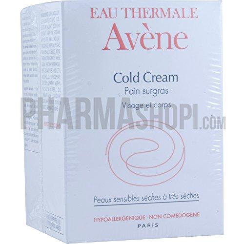 Avène Cold Cream Ultra-Rich Soap Free Cleansing Bar x2