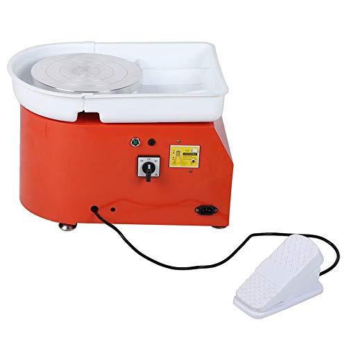 Caredy Töpferscheibe, Elektrische Töpferscheibe 350 watt 25 cm töpferscheibe Clay Maschine formmaschine DIY für Keramikarbeiten Keramik Ton Kunsthandwerk Erwachsene Kinder
