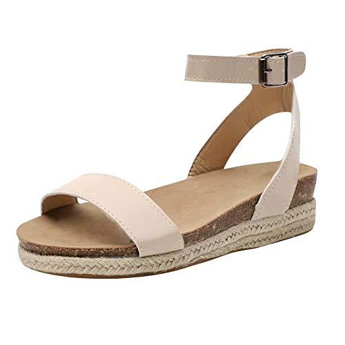 Sandalias planas piel | Mejor Precio de 2020