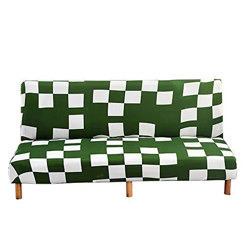 C/N Funda de sofá Cama sin Brazos Funda de sofá 2 3 Plaza sin Brazos elástica Fundas de Sofa Clic clac sin Reposabrazos