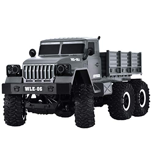 HHoo88 Sulong SL3342 Ural 1/10 2.4G 6WD Military Truck Remote Control Off-Road RC Car RTR Toys Best Racing Gift for Kids Children (Shipping from US!!!)